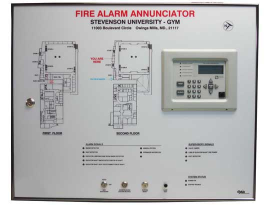 Annunciator Panels Engravers Md Amp Dc Quality Engraving